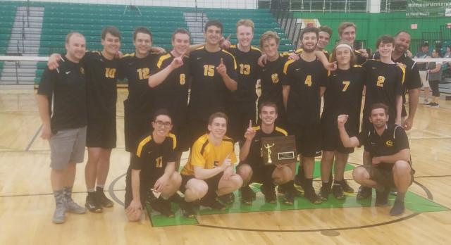 Boys Volleyball Wins Regional, Earns Return Trip to Columbus