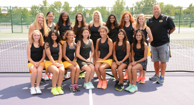 Girls Tennis Teams Split Matches With C-J