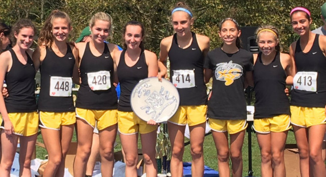 Girls Cross Country Wins in Louisville