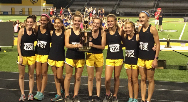 Girls Cross Country Dominant at Saturday Night Lights