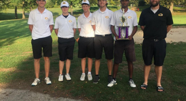 Boys Varsity Black Golf Finishes Second at Chase Hecht Memorial