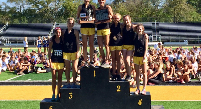 Centerville Girls Cross Country Reclaims GWOC Overall Title