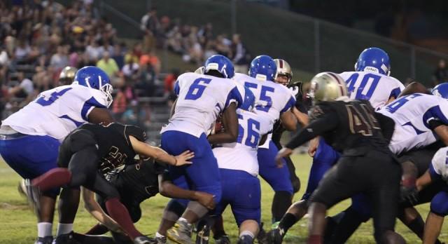 Valley Varsity Football takes a win!