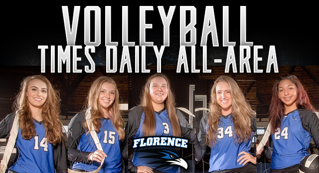 ALL-AREA volleyball selections