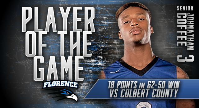 Johnathan Coffee: Player of the Game vs Colbert Co.