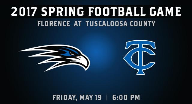 Spring Football Game at Tuscaloosa County