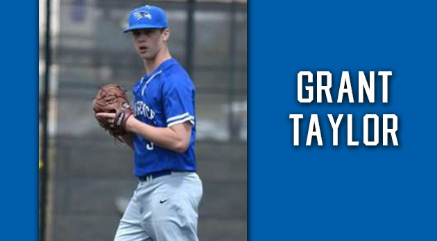 Grant Taylor to pitch on national TV, Sunday 6 PM