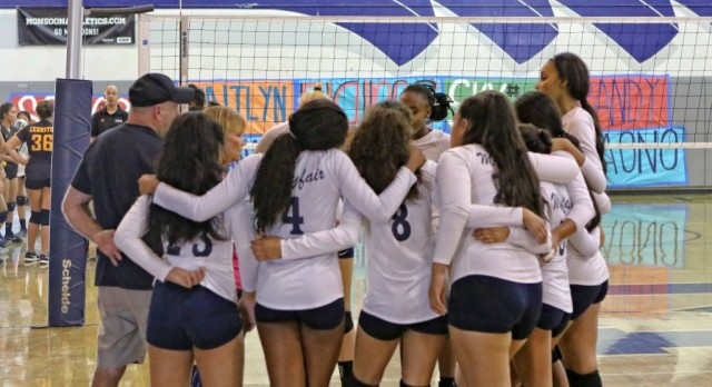 Volleyball's season ends in CIF quarterfinals