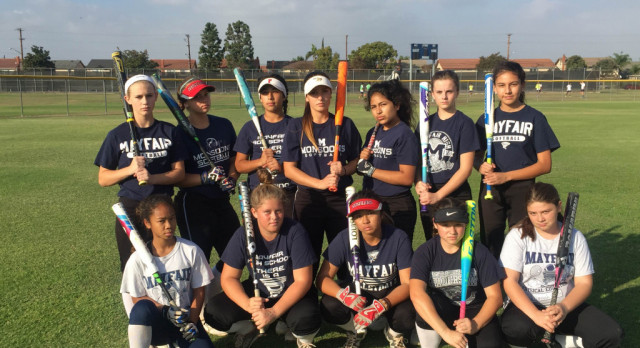Middle School Softball Victorious