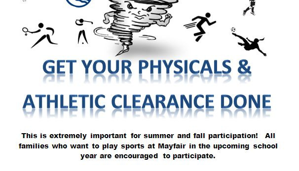 Physicals and Athletic Clearance Day