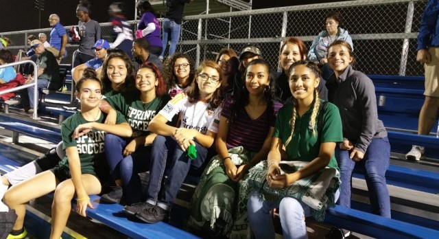 Spring Lady Lions Soccer