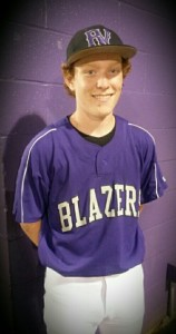 Sophomore Baylor Barry after 1-0 win over Irmo