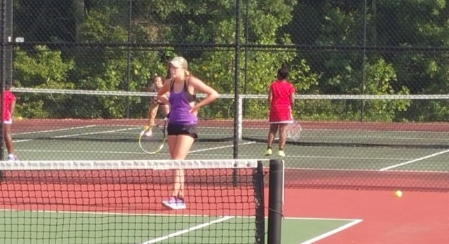 Blazer Tennis Opens Season with a Win at South Pointe