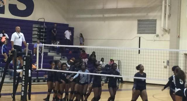 Blazer Volleyball Defeats Dreher 3-1
