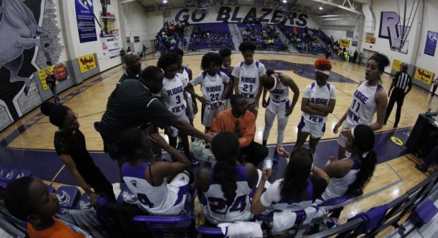Ridge View Varsity Girls Basketball Falls in 3rd Round Playoff Game