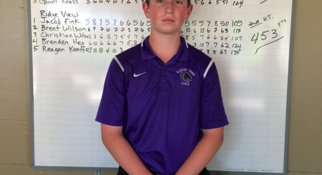 Ridge View Golfer Qualifies for AAAA Upper State