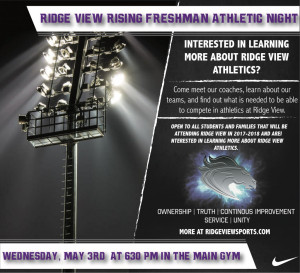 Athletic Information Night