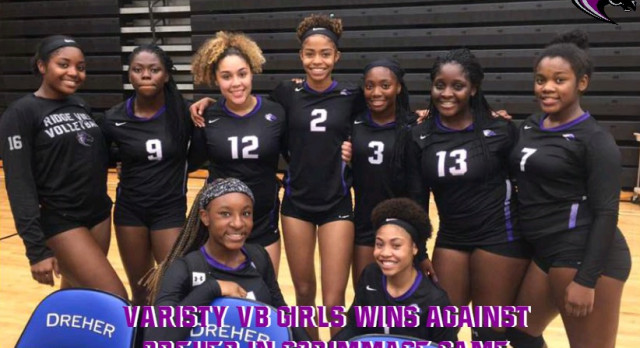 Ridge View Volleyball With Great Showing vs. Dreher in Scrimmage