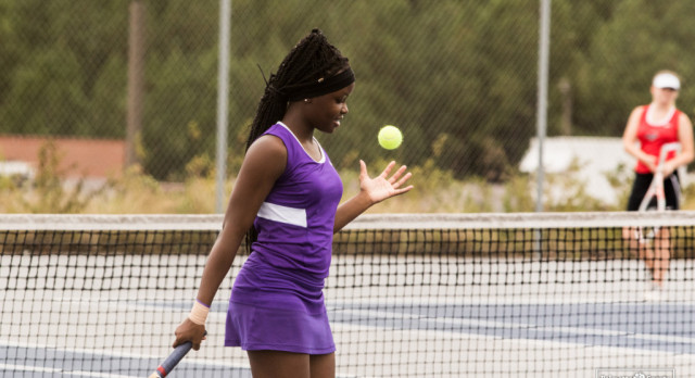Ridge View Girls Tennis Defeats Richland Northeast