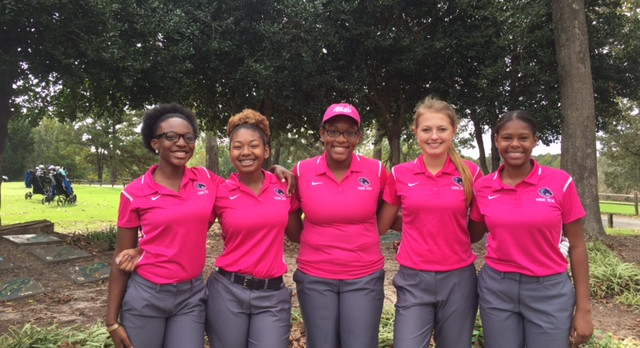 Lady Blazer Golfer Qualifies for State