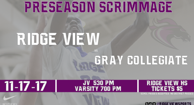 HOME Boys Basketball Scrimmage This Friday Night