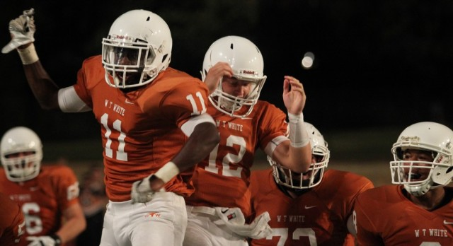 W.T. White TWO/ way players in 6A