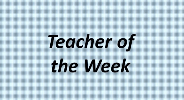 Angela Ross is the Teacher of the Week