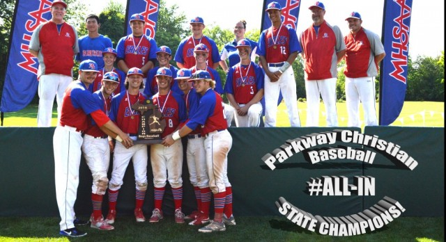 Parkway Baseball –  Team of the Year