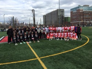 JV Lax Gm 1 (two teams photo)