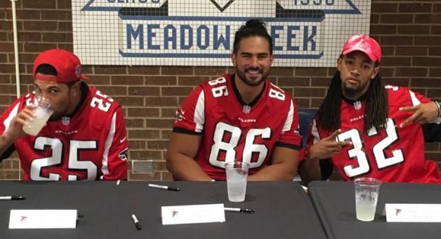 Meadowcreek Hosts Atlanta Falcons Youth Football Coaches Clinic