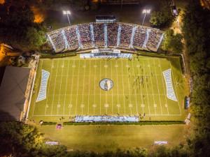 stadium arial view