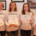 Creekview High School Girls Cross Country Recognized at County Board Meeeting
