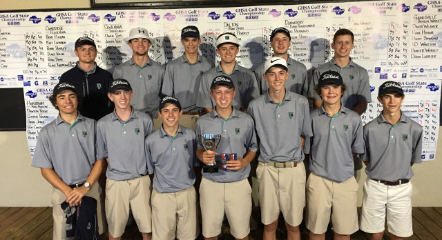 Creekview High School Boys Varsity Golf finishes 2nd place