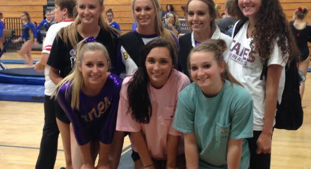 Gymnastics Competes at State Preliminary; Barrett Qualifies to State Finals on Beam