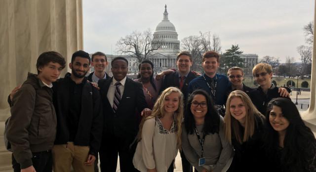 Washington, DC Trip – Informational Meeting Tomorrow (Wed, April 19, 2017)