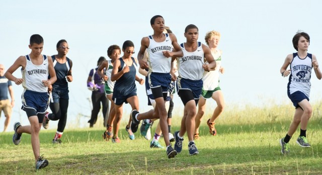 Blythewood High School Boys Varsity Cross Country finishes 2nd place