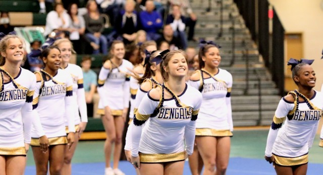 Cheerleading To Compete At State Championship Meet
