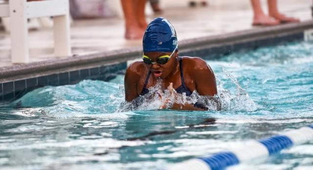 Swimming Finishes Season At State Championship Meet