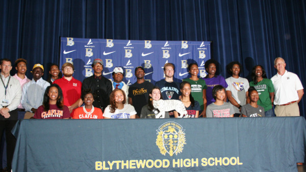Spring Scholarship Signees