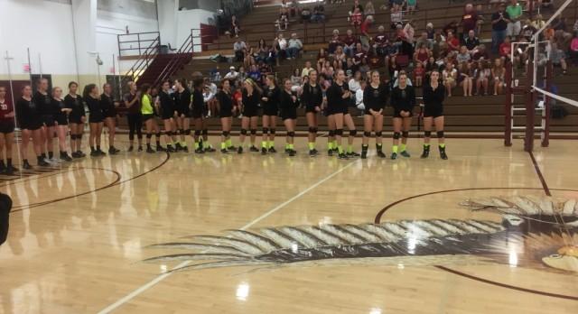 Eagle Volleyball defeats Limestone