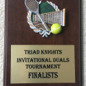 Tennis @ Triad Knights Invite