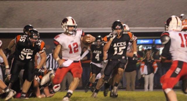 Liberty Union High School Varsity Football beat Amanda-Clearcreek High School & Middle School 22-14