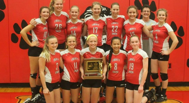 8th Grade Volleyball Wins Second Straight MSL Championship