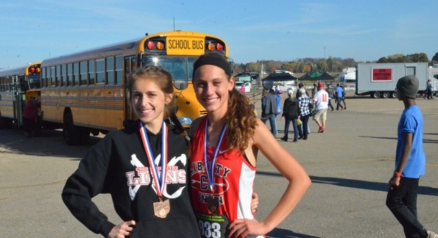 Mangette, French Earn All-Ohio Honors at State Cross Country