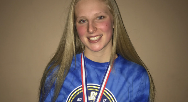 Lawhorn Wins State Championship in 100 Breaststroke as Girls Swim Team Impresses at State Meet