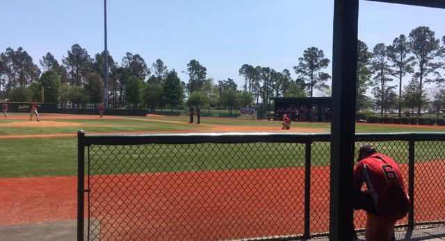 Liberty Union High School Varsity Baseball beat Calvary Day Scool, NC 16-9