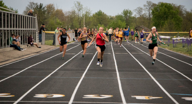 Girls Track Takes First Place at Millersport Invitational