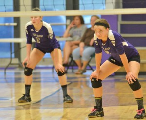 CHS Volleyball v. Fort Knox 1