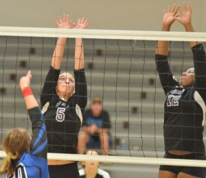 CHS Volleyball v. Adair 9-8 19