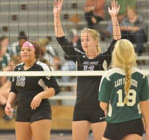 CHS Volleyball v. Cumberland 18